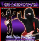 FANCY DRESS SHADOWSUITS/SKINZ/ZENTAI SUITS - 80'S ROCK STAR MEDIUM